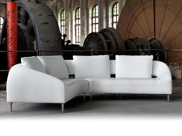 Canapé d'angle par Leolux