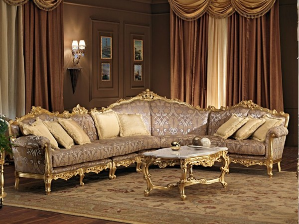 Canapé de luxe par Modenese Gastone group