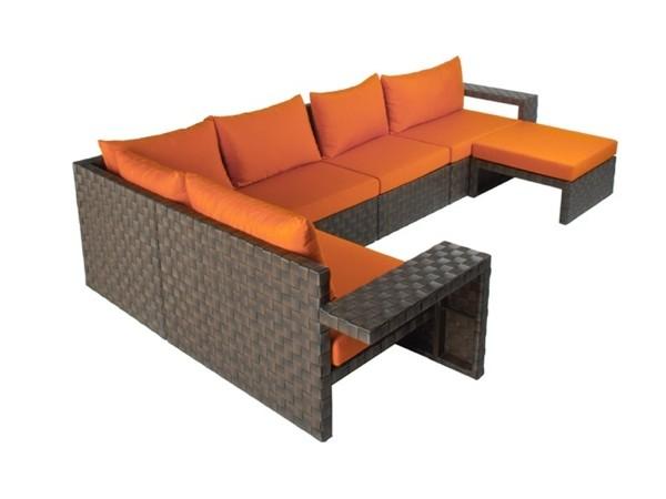 Canapé moderne par Kenneth Cobonpue