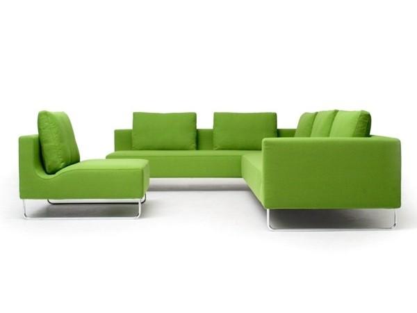 Canapé moderne d'angle par BENSEN