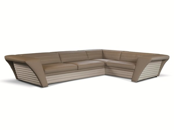 Canapé moderne d'angle par Formenti