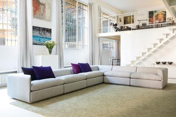 Canapé moderne pour loft par OBJEKTEN