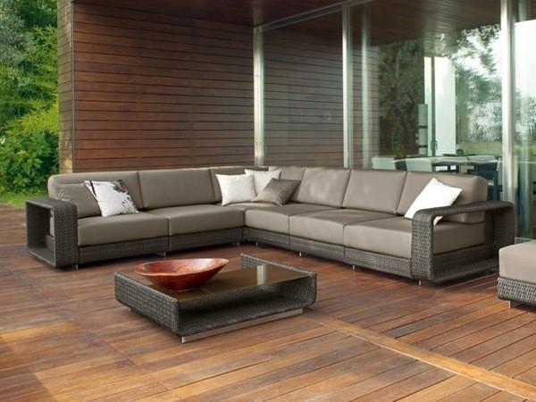 Canapé de patio par Roberti Rattan