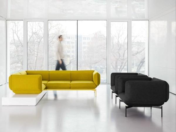 Contraste du jaune et le noir dans la collection de Prostoria Ltd