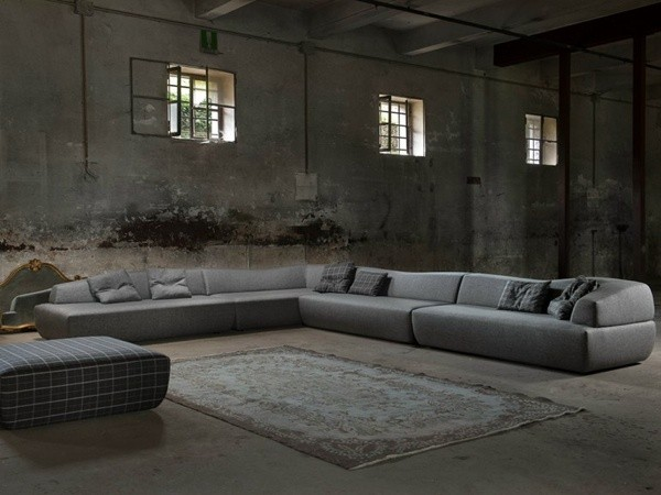 Grand canapé d'angle par Minimomassimo Italo