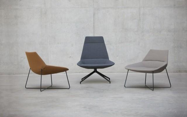 Fauteuil design par Inclass Mobles couleurs diverses