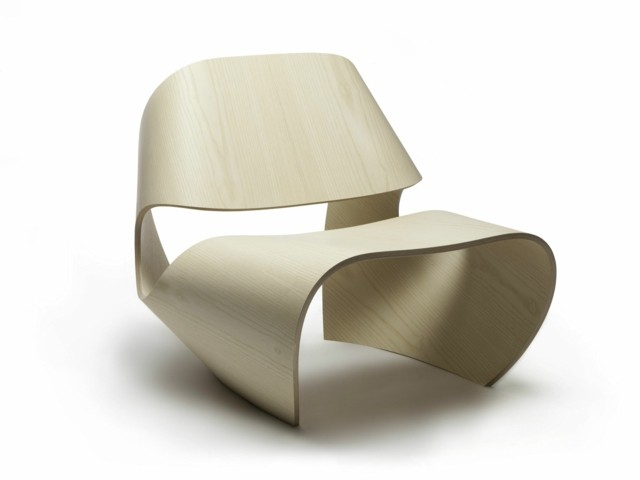 Fauteuil atypique par Made in ratio ergonomique forme