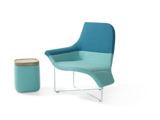 Une vague de bleu par Artifort meuble fauteuil