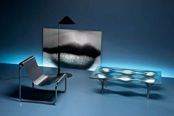 table basse verre design interessant moderne