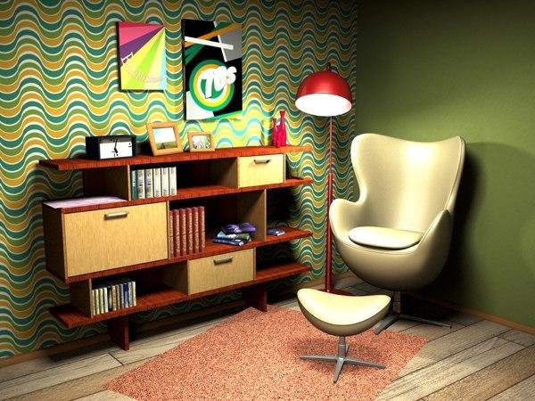 Misez sur les couleurs pour la déco de votre salon vintage