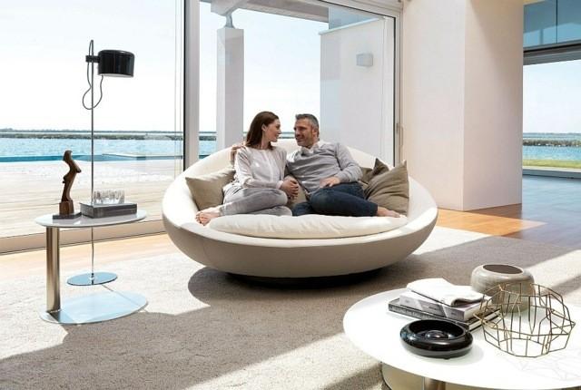 canapé moderne luxueux Lacoon concepteur Jai Jalan