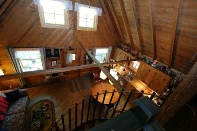 chalet style rustique design bois chalet montagne idée aménagement salon design en bois
