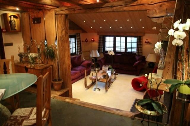 mobilier salon rustique design moderne design d'intérieur table basse en bois
