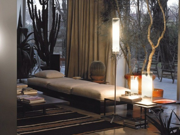 lampadaire design moderne Vetreria Vistosi