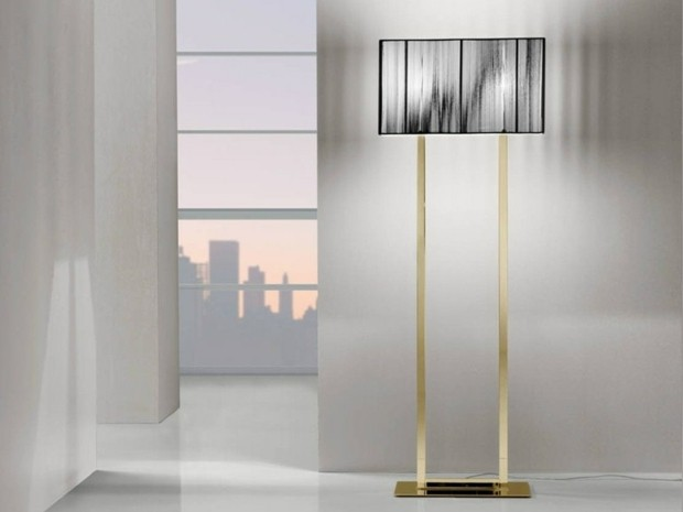 lampadaire elegant moderne Vetreria Vistosi