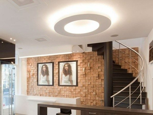 lampe interessante plafond Flos