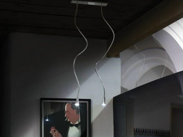 lampes pendantes longues Massmi Iluminación