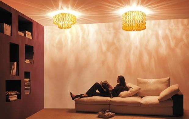 lampes salon interessantes Vetreria Vistosi