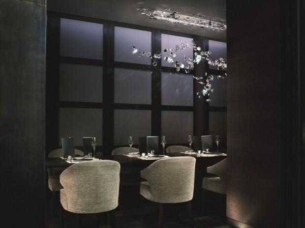 luminaire salon design Swarovski