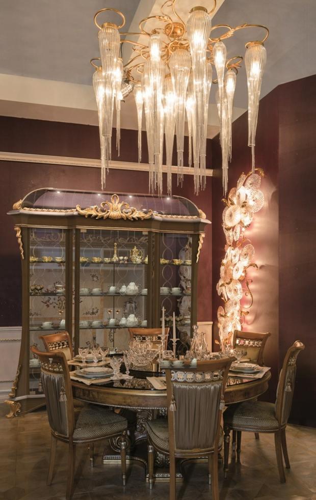 luminaire salon lustre luxe Mantellassi