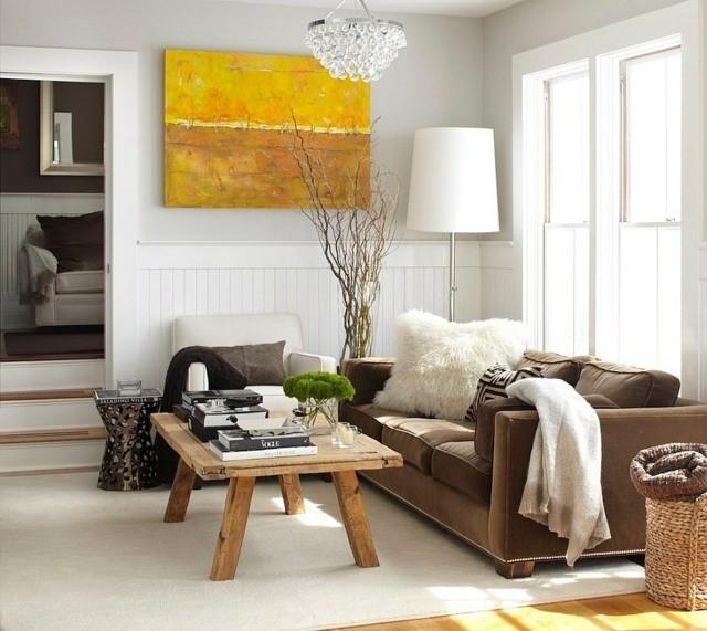 salon style rustique moderne Urrutia Design