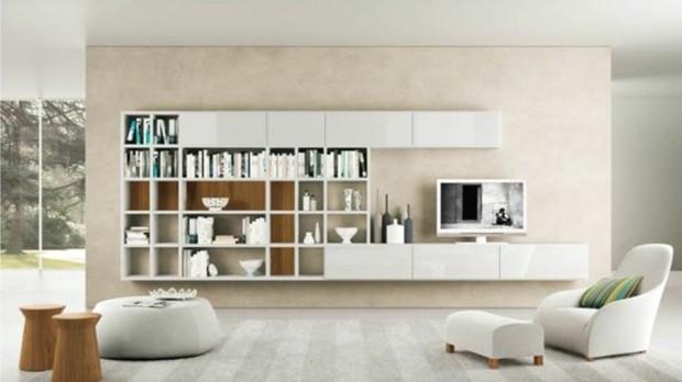 aménagement salon minimaliste palette neutre