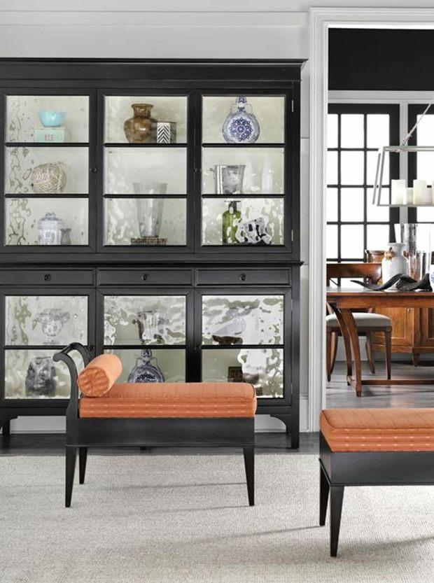 belle meuble vitrine pour exposer collection et souvenirs