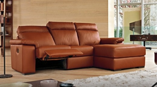 canape confortable design cuir