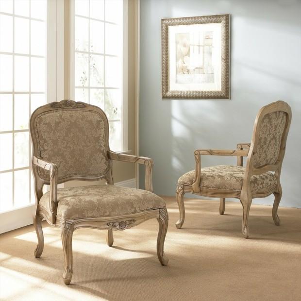 idées déco fauteuils de style baroque