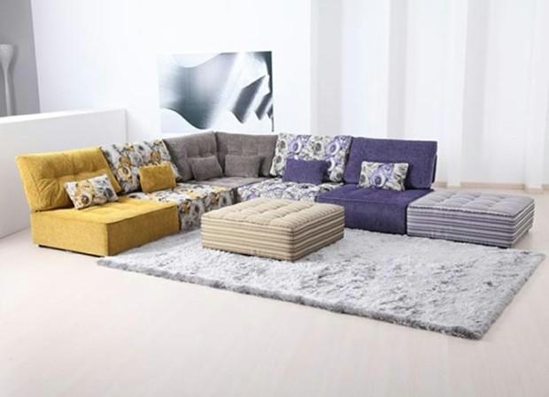 idées meubles salon débordent caractère