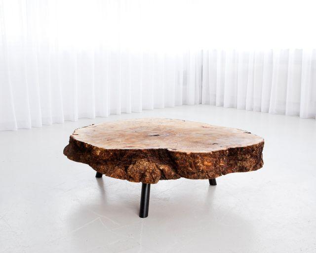 meubles salon table morgen bois design