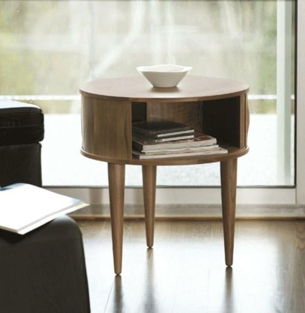 superbe table d'appoint en bois style baroque