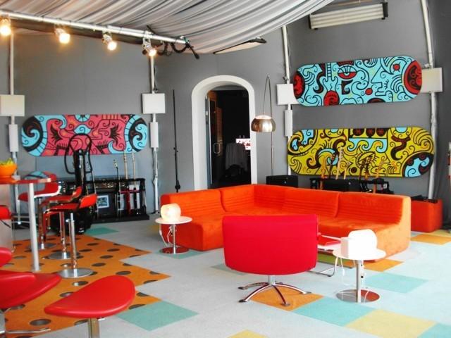 couleurs decoration interieur salon