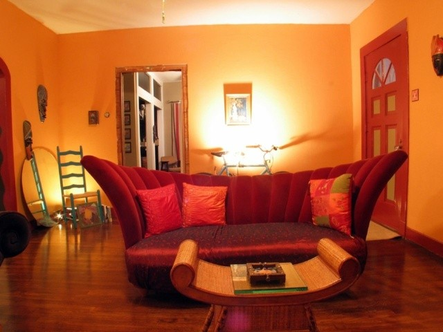 decoration contemporaine interieur salon