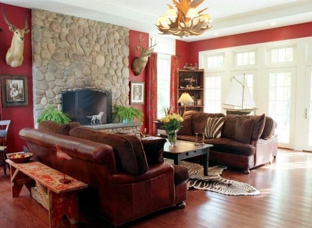 decoration interieur salon contemporaine