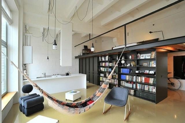 decoration interieur salon loft