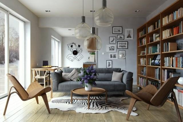 decoration loft interieur salon