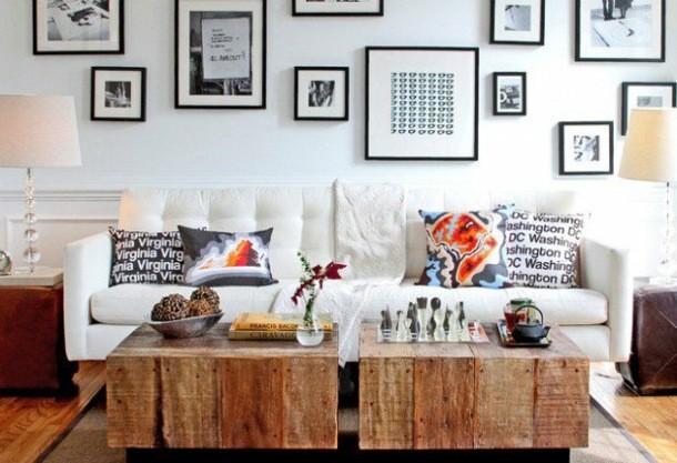 decoration petites tables basses