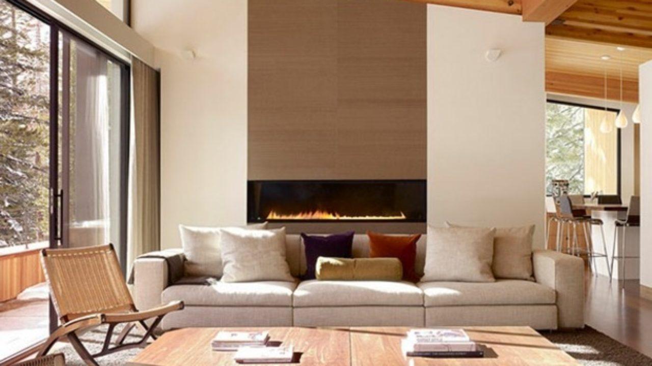 Idée De Cheminée Moderne la décoration salon moderne – quelques idées élégantes