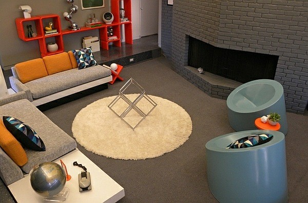 idee salon design retro moderne