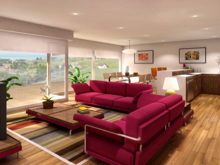 idée salon peinture interieur design moderne