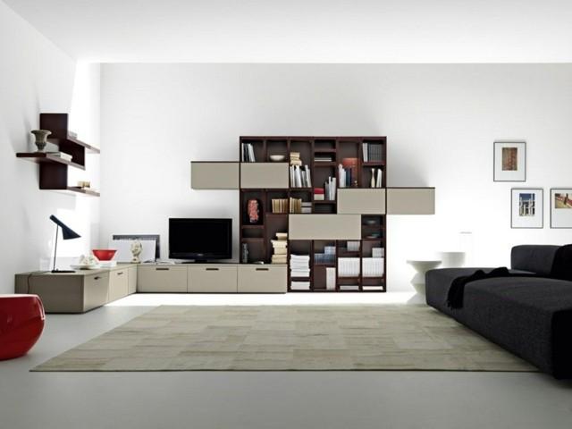 décoration salon design bois classique