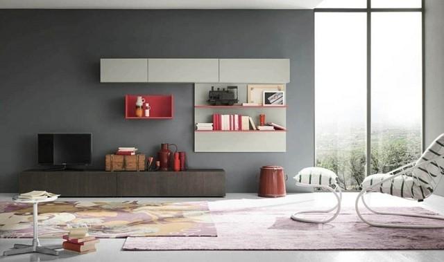 meubles muraux salon modulables eco