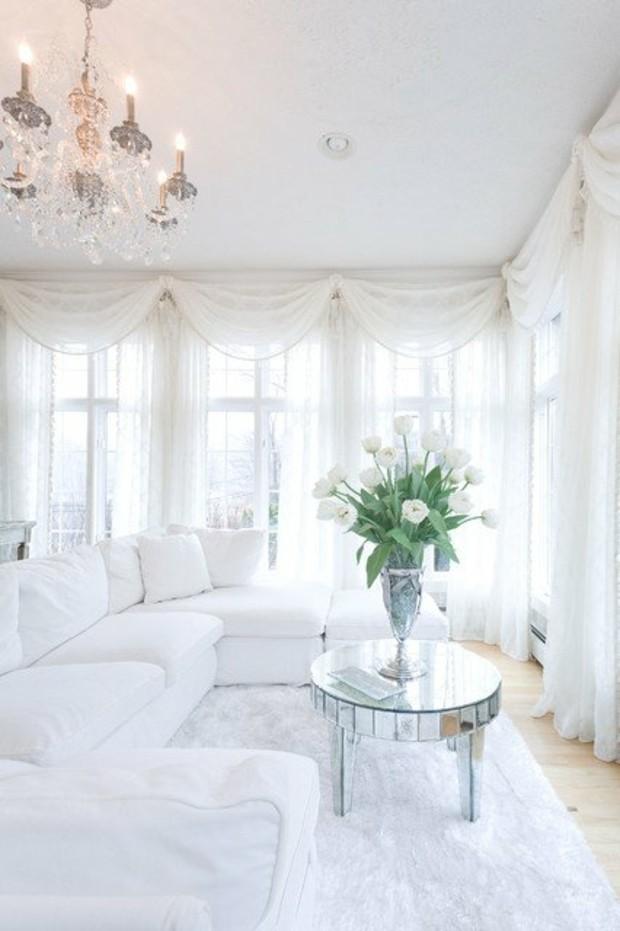 salon blanc style minimaliste