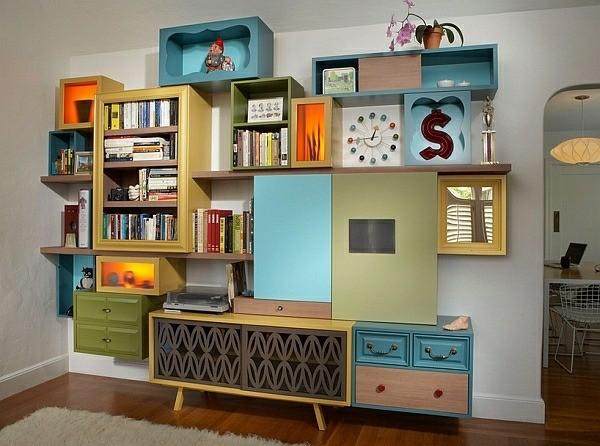 salon meubles design retro
