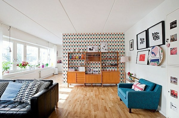 salon moderne deco motifs