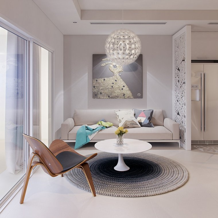 salon moderne deco meubles design