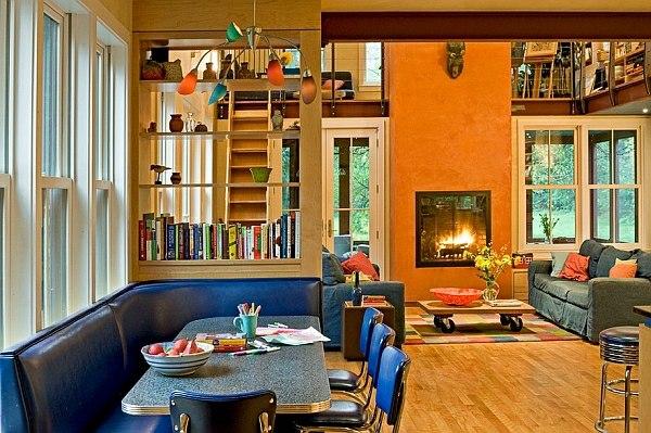 salon salle manger couleurs