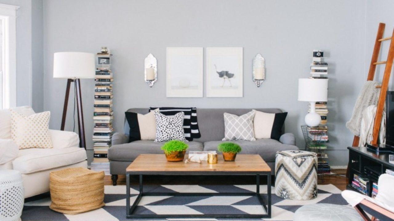 Idee Deco Sejour Scandinave table basse de salon – quelques idées comment la décorer