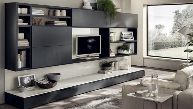 unité polyvalente séjour grand meuble TV
